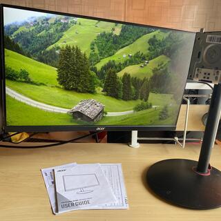 エイサー(Acer)のAcer 165hz XV240YPbmiiprx ゲーミングモニター(ディスプレイ)