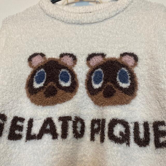 gelato pique(ジェラートピケ)のジェラートピケ プルオーバー レディースのルームウェア/パジャマ(ルームウェア)の商品写真