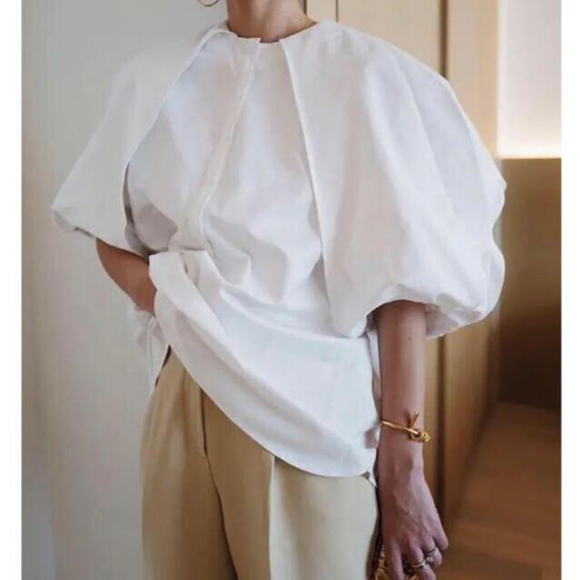 machatt ヨークボリュームブラウス 新品 レディースのトップス(シャツ/ブラウス(長袖/七分))の商品写真