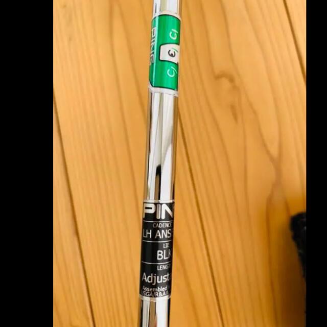 PING(ピン)のping anser2 cadence TR パター レフティ ゴルフクラブ スポーツ/アウトドアのゴルフ(クラブ)の商品写真