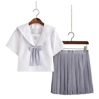 セーラー服 半袖 コスプレ Lサイズ 新品未使用(衣装一式)