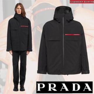 プラダ(PRADA)のPRADA リネアロッサ 18AW GORE-TEXテクニカルナイロンジャケット(マウンテンパーカー)
