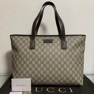 Gucci - 未使用に近い 超美品 グッチ トートバッグ ハンドバッグ GG スプリーム
