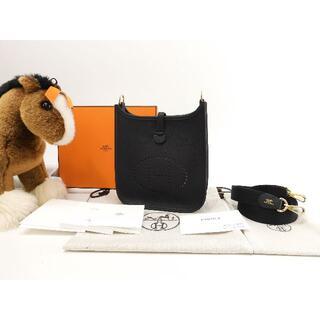エルメス(Hermes)のエルメス エヴリンTPM トゴ 黒 ポシェットバッグ ゴールド金具 新品@Y 3(ショルダーバッグ)