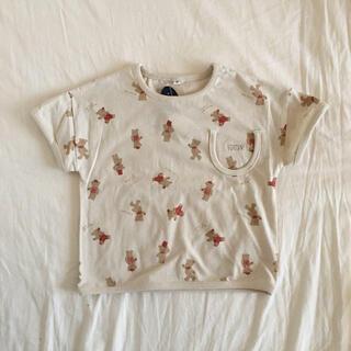 futafuta - バースデイ ネネン くま 半袖Tシャツ 100