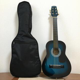 【弦交換済】Sepia Crue アコースティックミニギター、ケース有り(アコースティックギター)