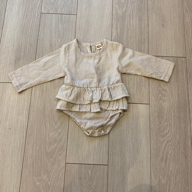 petit main(プティマイン)の韓国ベビー服 70 キッズ/ベビー/マタニティのベビー服(~85cm)(ロンパース)の商品写真