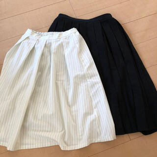 GU - GU ジーユー  スカート 2点セット まとめ売り
