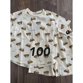 フタフタ(futafuta)のフタフタ くま パジャマ 100(パジャマ)