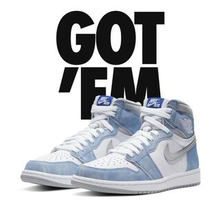 NIKE AIR JORDAN 1 RETRO HIGH HYPERROYAL(スニーカー)