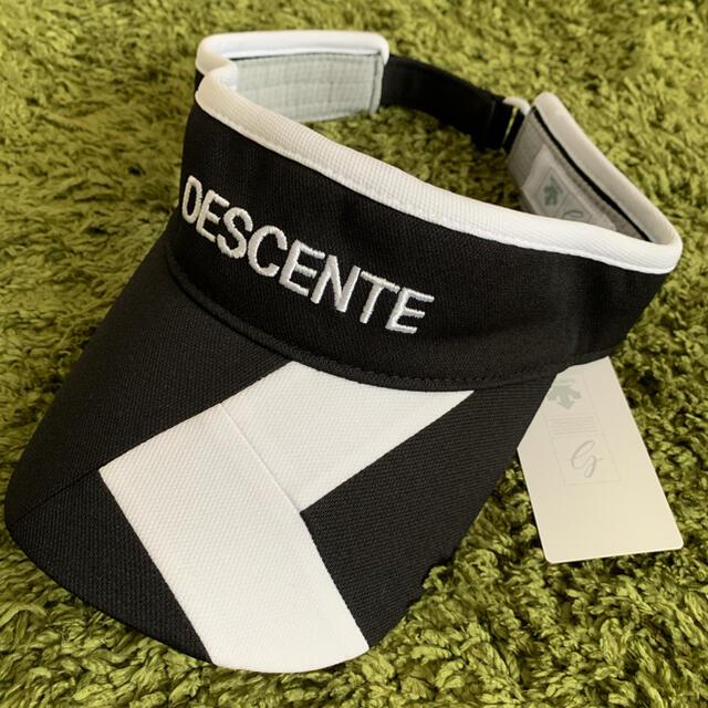 DESCENTE(デサント)のデサントゴルフ サンバイザー スポーツ/アウトドアのゴルフ(ウエア)の商品写真