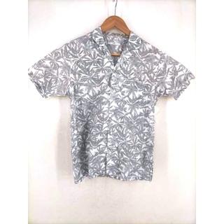 シップス(SHIPS)のSHIPS(シップス) ボタニカルプリントオープンカラーアロハシャツ メンズ(その他)