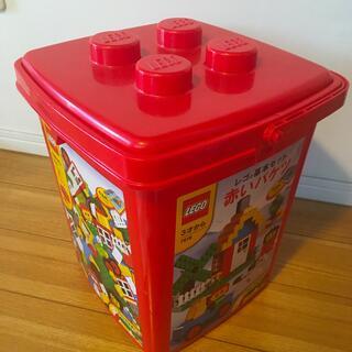 Lego - LEGO 赤いバケツ 基本セット7616