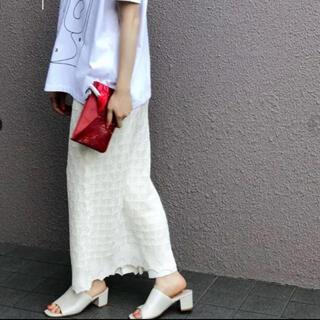 BEAUTY&YOUTH UNITED ARROWS - tanレーススカート