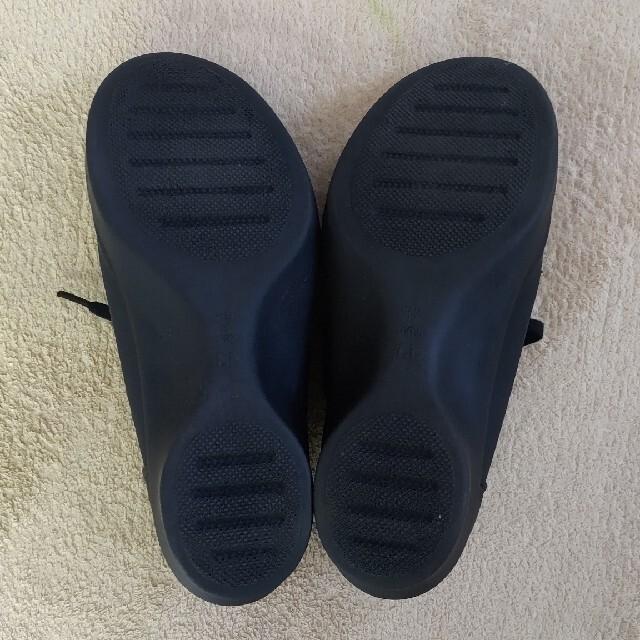 Re:getA(リゲッタ)のリゲッタ ヒールスニーカーLLブラック レディースの靴/シューズ(ローファー/革靴)の商品写真