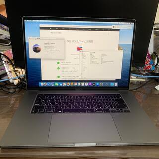 Mac (Apple) - MacBook Pro 2019 16インチ AppleCare GPU8GB