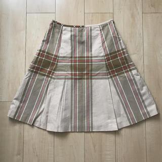 Yorkland - 【訳あり】York land チェックスカート プリーツスカート