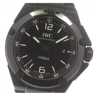 インターナショナルウォッチカンパニー(IWC)のIWC インヂュニア AMGブラック IW322503 メンズ 【中古】(腕時計(アナログ))