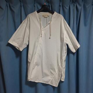 Marni - MARNI アシンメトリーシャツ