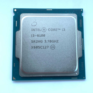 Intel cpu core i3 6100