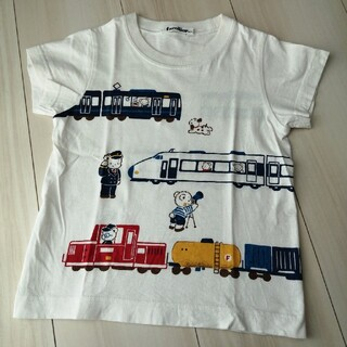 familiar - ファミリア おはなしTシャツ 新幹線