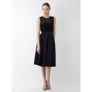 ラグナムーン(LagunaMoon)のラグナムーン レースベアガウチョドレス(ミディアムドレス)