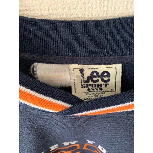 【vintage】カレッジロゴ スウェット トレーナー ゆるだぼ◎ 古着 メンズのトップス(スウェット)の商品写真