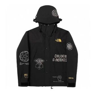 THE NORTH FACE - THE NORTH FACE × BRAIN DEAD マウンテンパーカー L