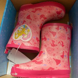 ディズニー(Disney)のプリンセス レインブーツ 長靴 16センチ(長靴/レインシューズ)
