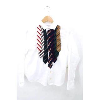 エィス(A)のA(エイス) ネクタイドッキングデザインオックスフォードシャツ メンズ トップス(その他)