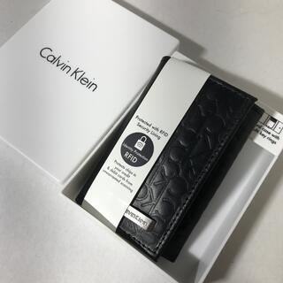 Calvin Klein - 直営店購入 新品カルバンクライン 高級牛革11000円 6連キーケース