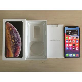 iPhone - 訳あり SIMロック解除済 Apple iPhone XS 256GB ゴールド