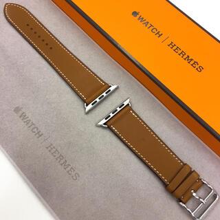 Apple Watch - アップルウォッチ HERMES レザーストラップ AppleWatch 42mm