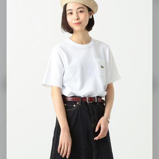 BEAMS BOY - ビームスボーイ   ラコステ 別注 ポケットTシャツ