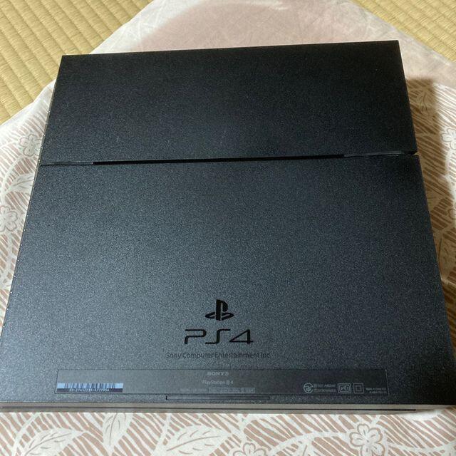 PlayStation4(プレイステーション4)のSONY PlayStation4 本体 CUH-1000AB01 初期型PS4 エンタメ/ホビーのゲームソフト/ゲーム機本体(家庭用ゲーム機本体)の商品写真