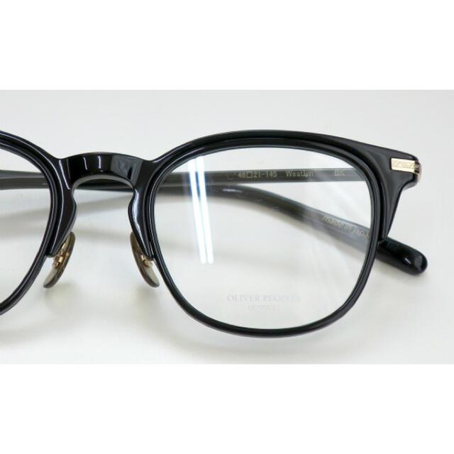 Ayame(アヤメ)のオリバーピープルズ 眼鏡 未使用品 メンズのファッション小物(サングラス/メガネ)の商品写真
