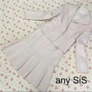 エニィスィス(anySiS)のany SiS エニィスィス スカートスーツ 2 W64 入学入園 ラメ DMW(スーツ)