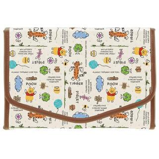 ディズニー(Disney)のくまのプーさん SKATER 母子手帳ケース 不織布製 スケッチブック(母子手帳ケース)