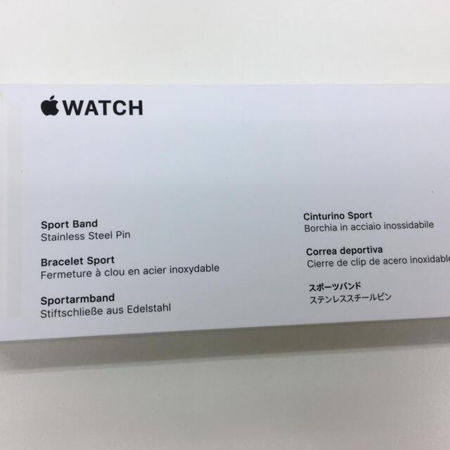 Apple(アップル)の未開封品 apple watch純正品バンド スポーツベルト 正規品 スマホ/家電/カメラのスマートフォン/携帯電話(その他)の商品写真