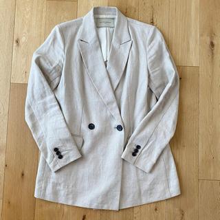 UNITED ARROWS - リネン 麻 スプリングジャケット