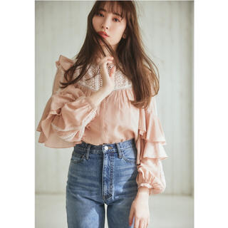 snidel - heilipto Easy to Love Blouse スナイデル