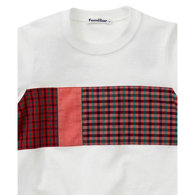 familiar(ファミリア)の★新品タグ付★familiar Tシャツ 110 キッズ/ベビー/マタニティのキッズ服女の子用(90cm~)(Tシャツ/カットソー)の商品写真