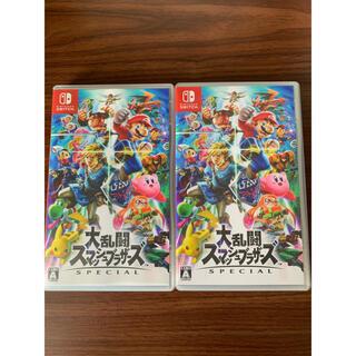 ニンテンドースイッチ(Nintendo Switch)の大乱闘スマッシュブラザーズ 2本セット Nintendo Switch(家庭用ゲームソフト)