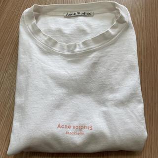 アクネ(ACNE)の【アクネステュデオズ】ロゴ Tシャツ(Tシャツ(半袖/袖なし))