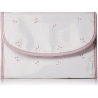 gelato pique - ラスト1点 新品未使用 タグ付き 母子手帳ケース ピンク 白 チェリーモチーフ