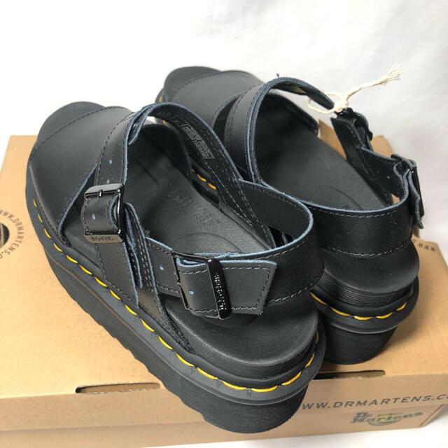 Dr.Martens(ドクターマーチン)の【新品】ドクターマーチン 厚底 サンダル VOSS ブラック 23.0 レディースの靴/シューズ(サンダル)の商品写真