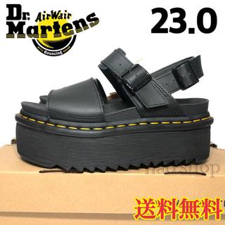 Dr.Martens - 【新品】ドクターマーチン 厚底 サンダル VOSS ブラック 23.0