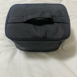ムジルシリョウヒン(MUJI (無印良品))の無印良品 ナイロンメイクボックス M ブラック(メイクボックス)