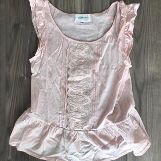ジルスチュアート(JILLSTUART)のピンクトップス(Tシャツ(半袖/袖なし))