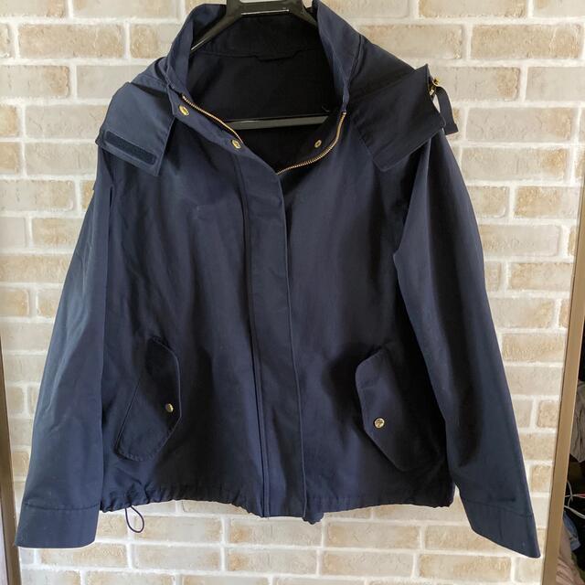 GU(ジーユー)のGU マウンテンパーカー M ネイビー レディースのジャケット/アウター(ブルゾン)の商品写真